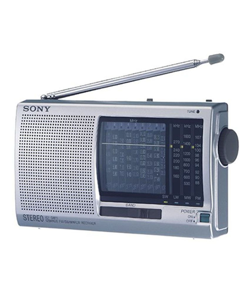 Buy sony icf sw11 world band radio silver online at best for Icf pricing