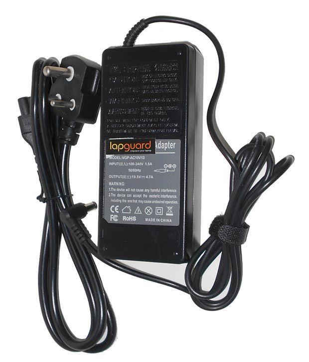 Arb Laptop Adapter For Sony Vpcsa31gxsi Vpcsa33gx 19.5v 4.74a 90w Connector Pin : 6.5 X 4.4 Mm