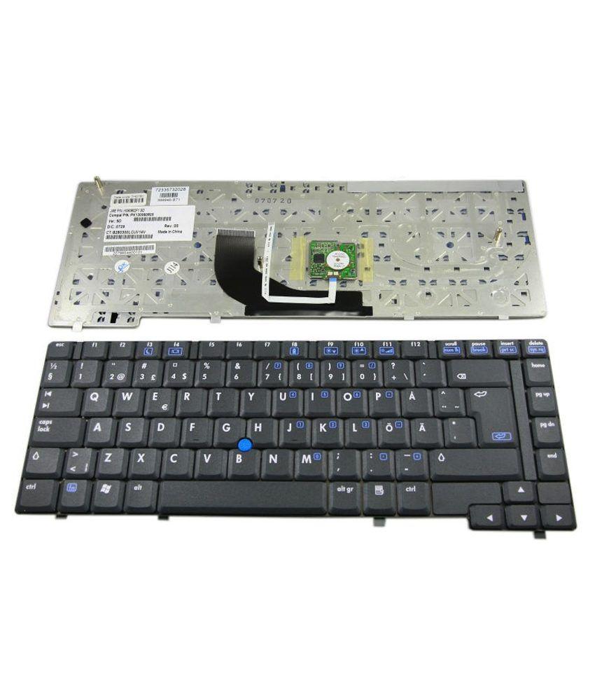 DGB NC6400 Series PK130060100 Black Inbuilt Replacement Laptop Keyboard Keyboard