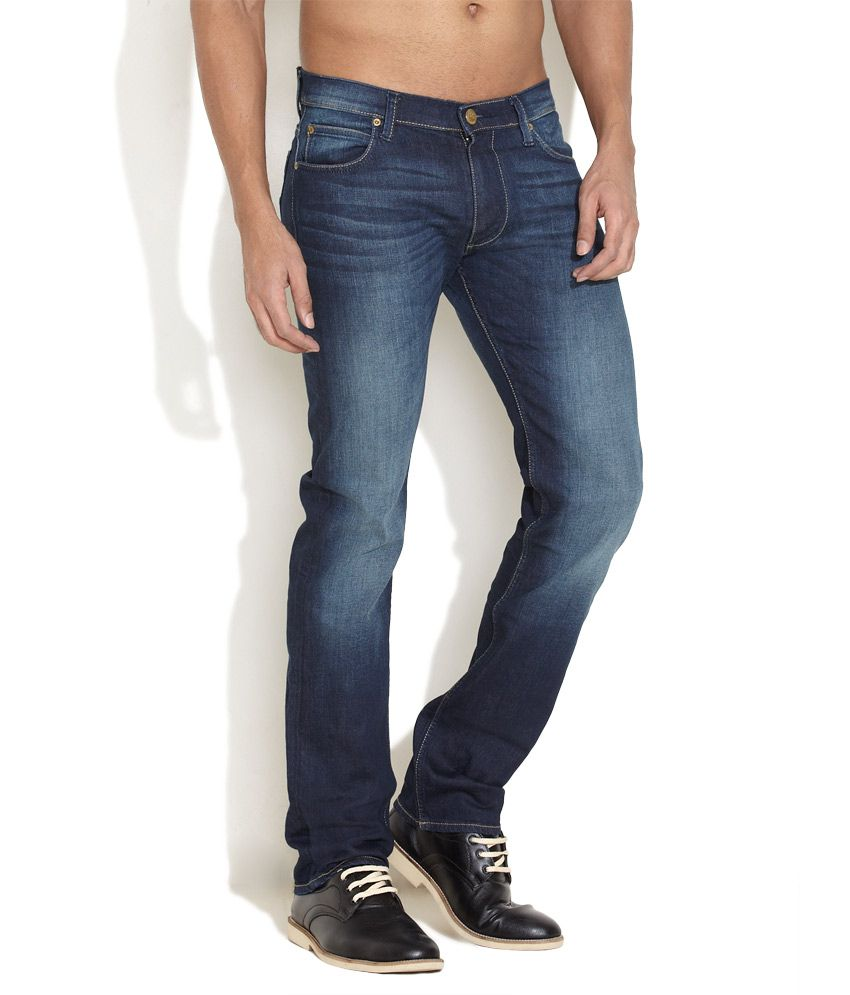 Lee Medium Blue Classics Powell Jeans
