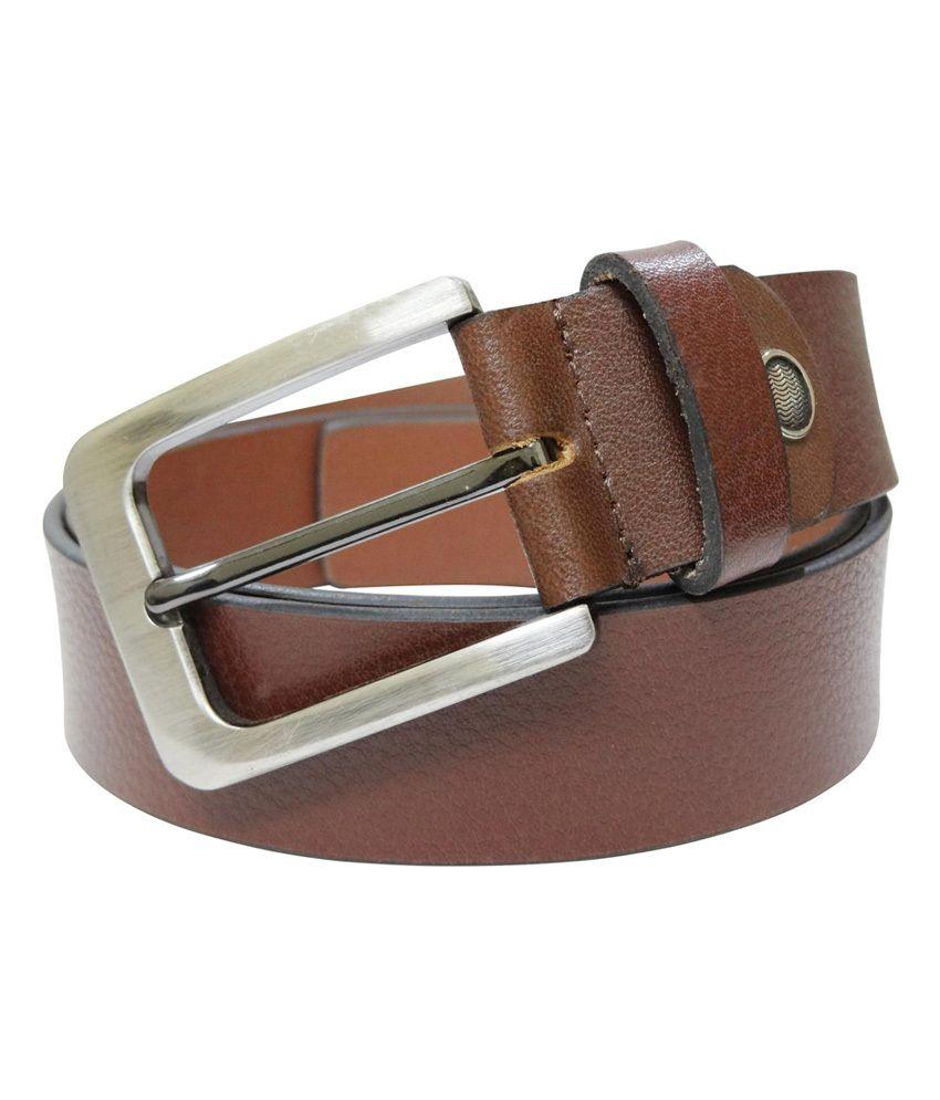 Midas Spanish Leather Belt - Tan