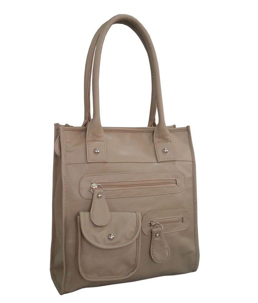 Toteteca Bag Works Beige Shoulder Bag