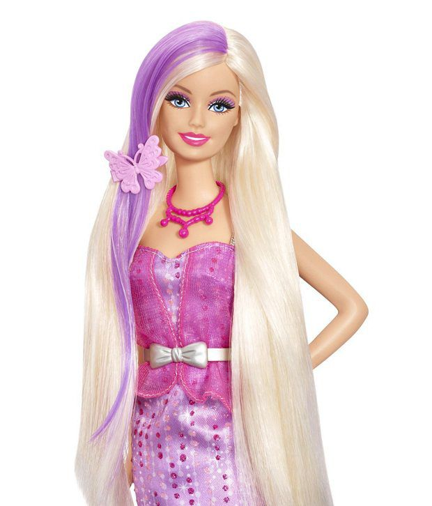 Barbie Long Hair With Color Change Beauty Fashion Doll