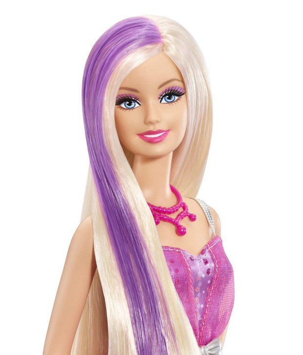 Inspirational Barbie that Hair Changes Color