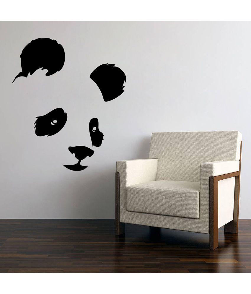 Decor Kafe Decor Kafe Bear Face Wall Decal Medium Best Price In