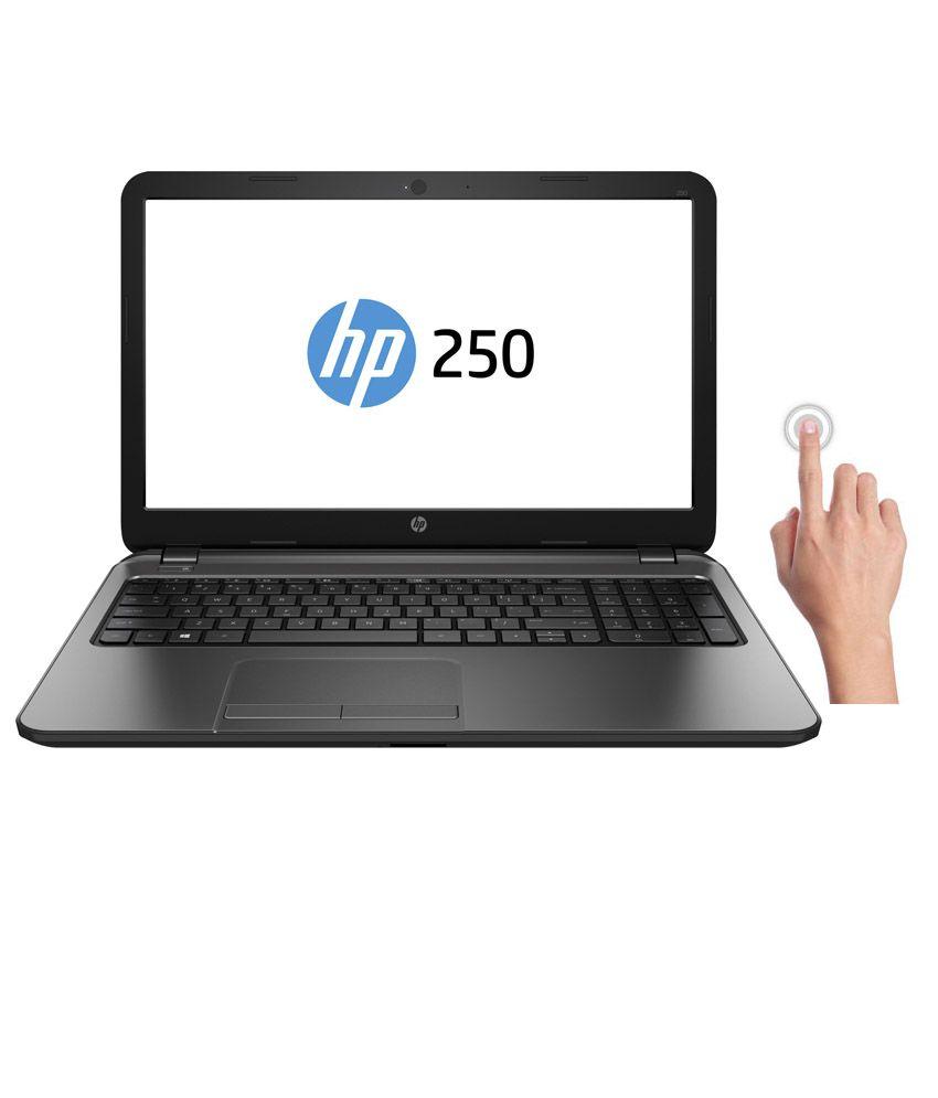 HP Pro 250 G3 (L3H98PA) Notebook (Intel Celeron- 4GB RAM- 500GB HDD- 39.62cm (15.6)- Windows 8.1) (Metallic Grey)
