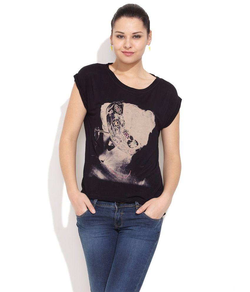 Lee Lee Black Glitz & Glamour Top