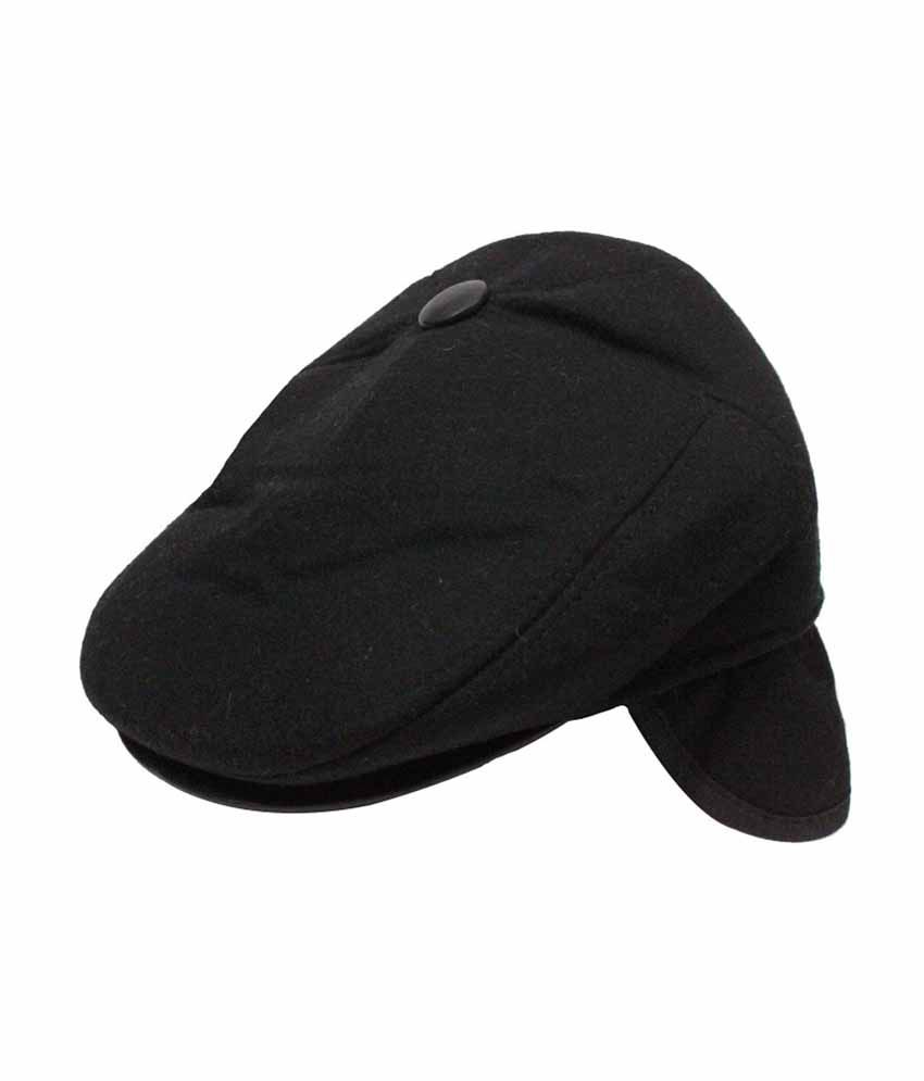 Takeincart Black Men's Summer Cow Boy Hat