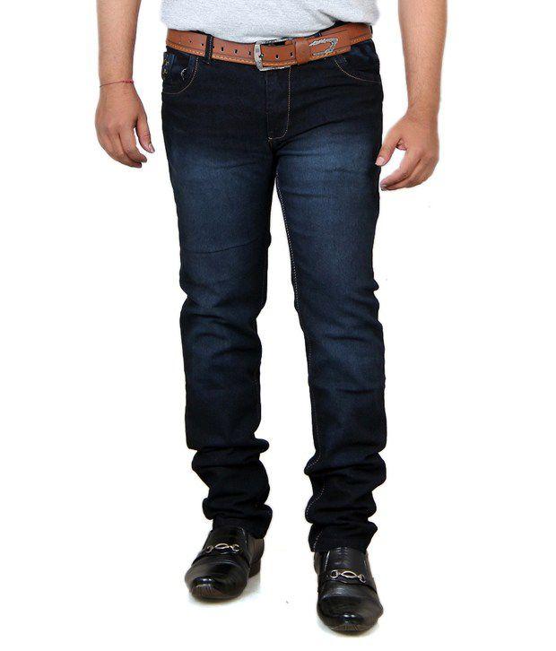 Acro Black Cotton Strech Jeans