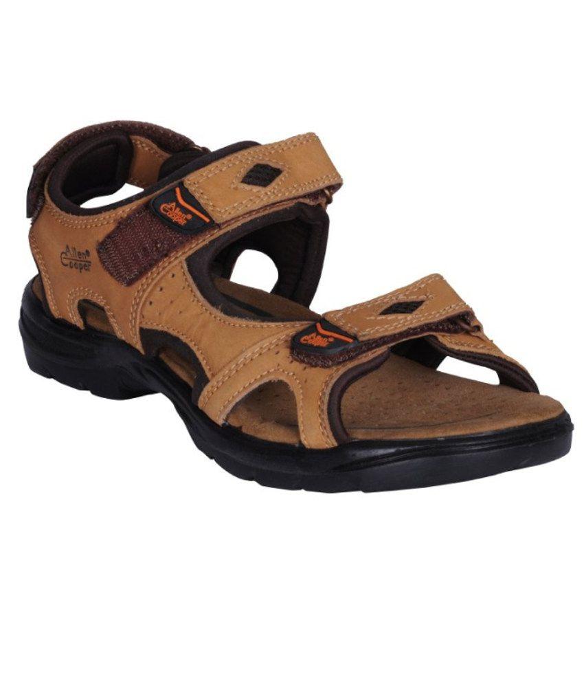 8b15145d2daa Allen Cooper Sandals For Men Price in India- Buy Allen Cooper Sandals For  Men Online at Snapdeal