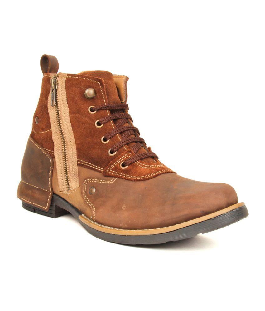 Kosher Brown Boots