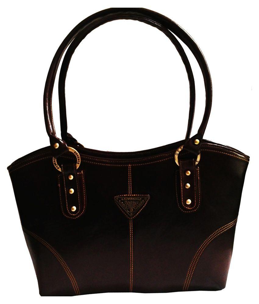 bag bucks brown p u tote bag for buy bag