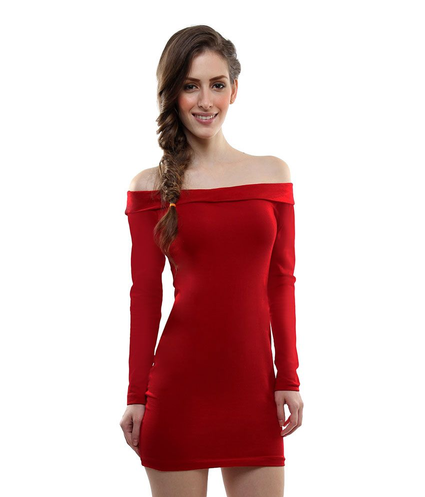 Miss Chase Red Mini Bodycon Dresses For Women Full Sleeve Party Wear - Buy  Miss Chase Red Mini Bodycon Dresses For Women Full Sleeve Party Wear Online  at ... ac1b5b9d8