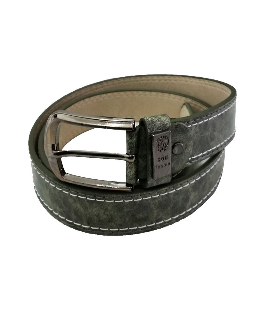 Verceys Army Green Fashion Belt