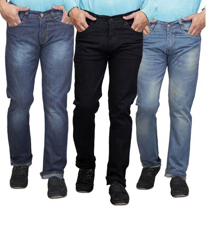 X-cross Blue Faded Jeans