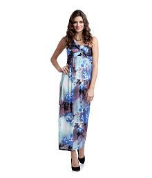 Heart2heart Ladies One Shoulder Maxi Dress