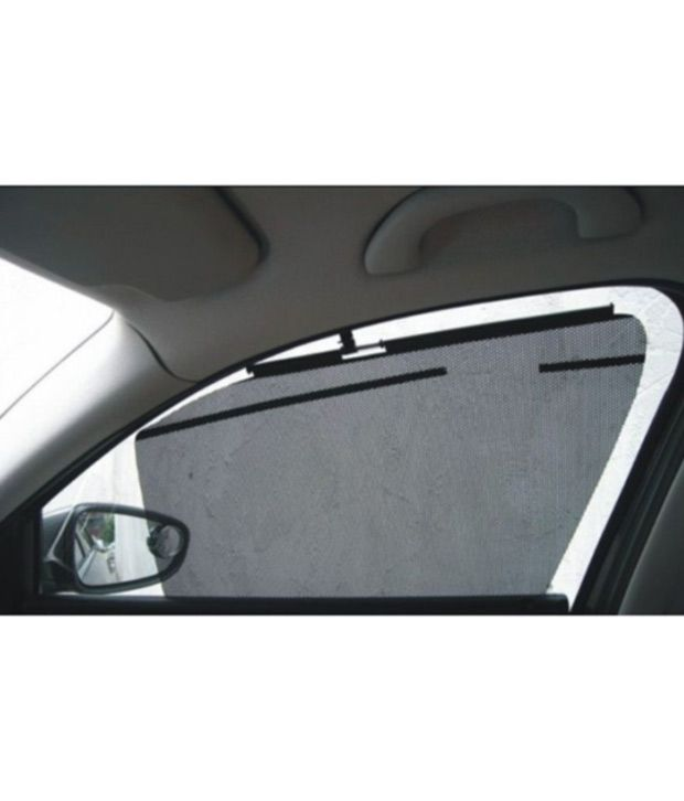 Automatic Side Window Sun Shade Car Curtain For Renault