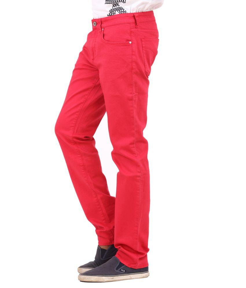 46d4bb6b2c Calvin Klein Mens Red Jeans - Buy Calvin Klein Mens Red Jeans Online ...