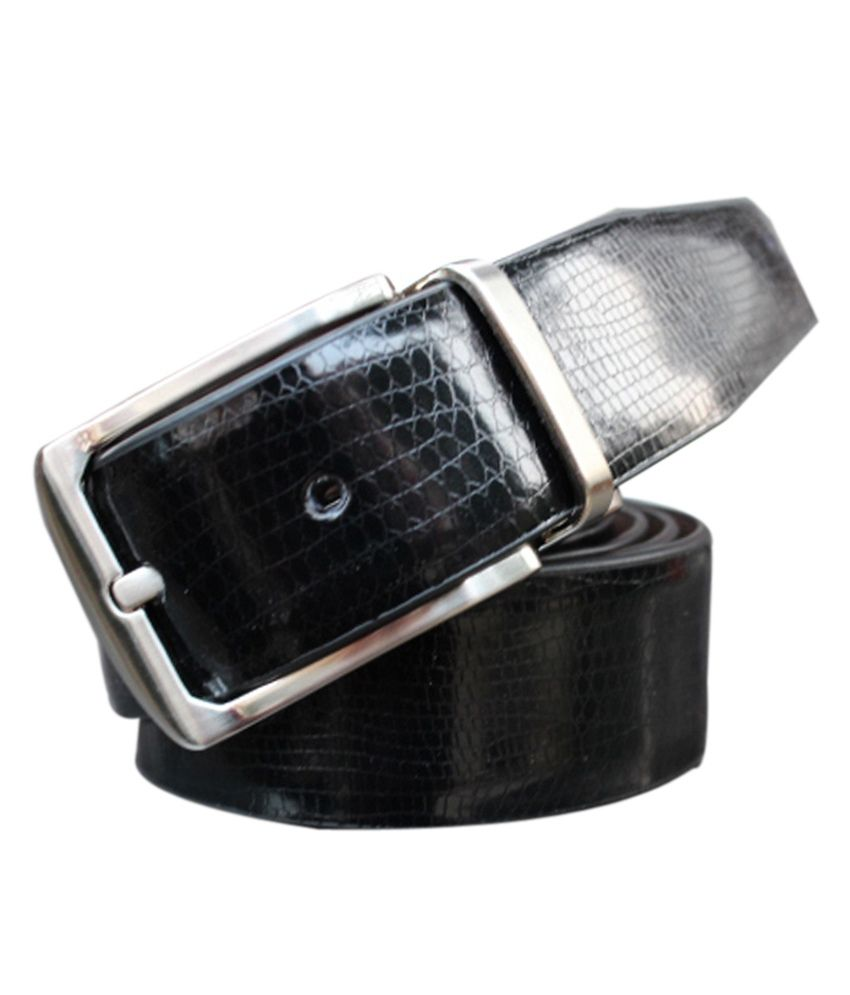 Winsome Deal Leather Black Formal Belt