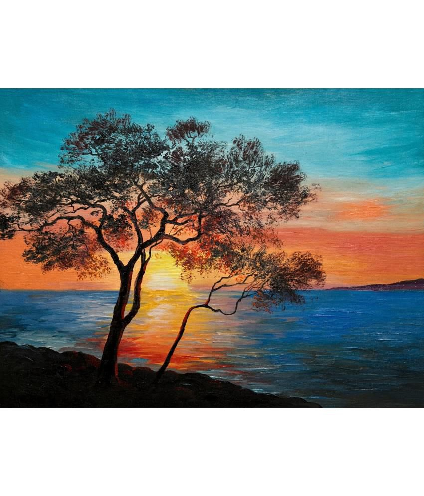 3d80e3cf2 Art Factory Nature Canvas Painting: Buy Art Factory Nature Canvas Painting  at Best Price in India on Snapdeal
