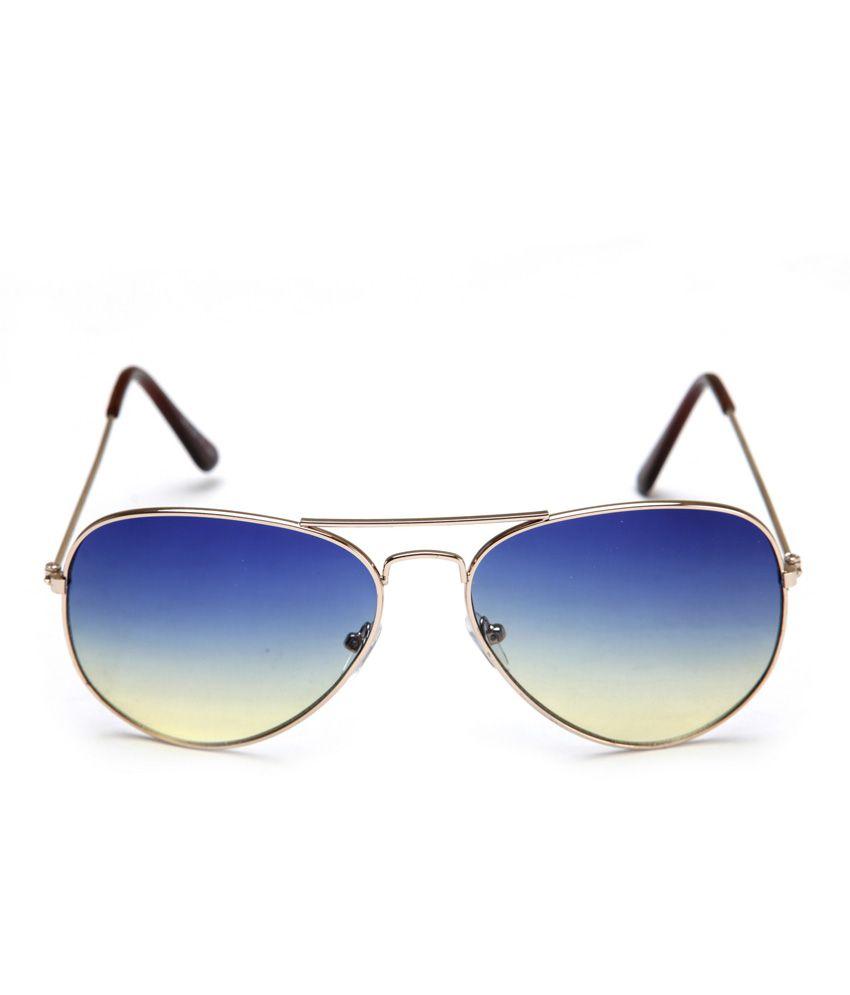 Stylish Sunglasses For Men  fair x stylish blue grant aviator sunglasses for men women