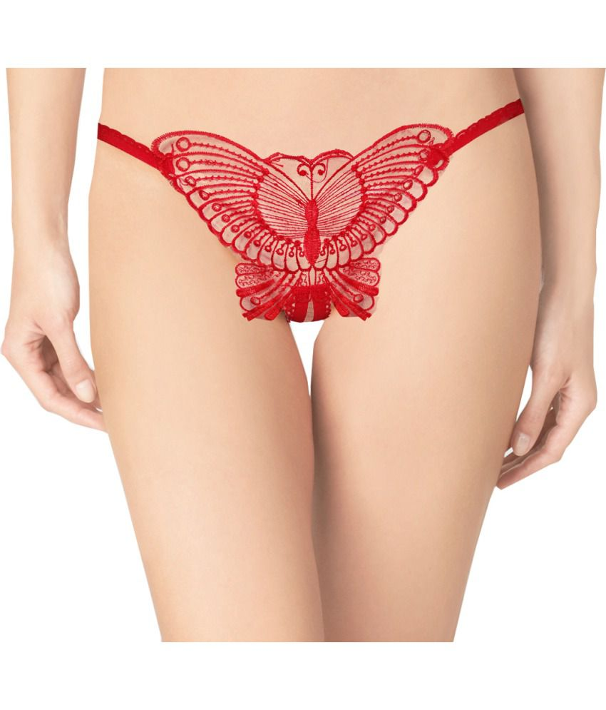 ca47c12139b Buy Fenelisi Red Thong Online at Best Prices in India - Snapdeal