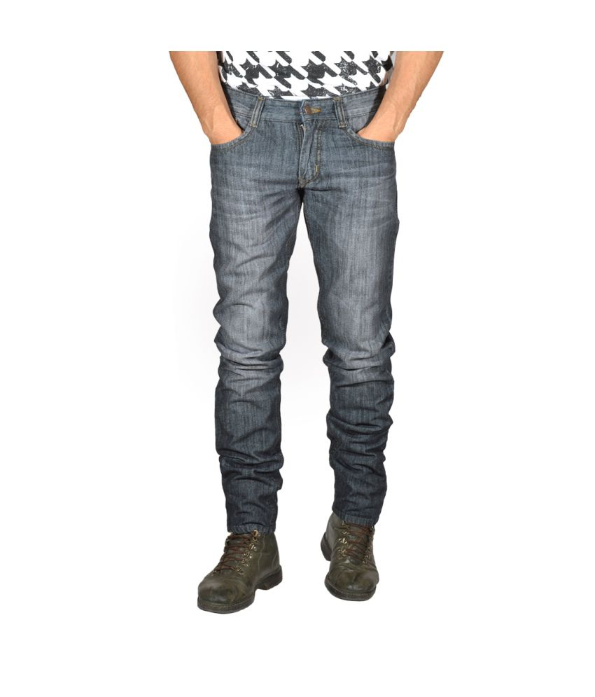 Focker Gray Slim Fit Jeans