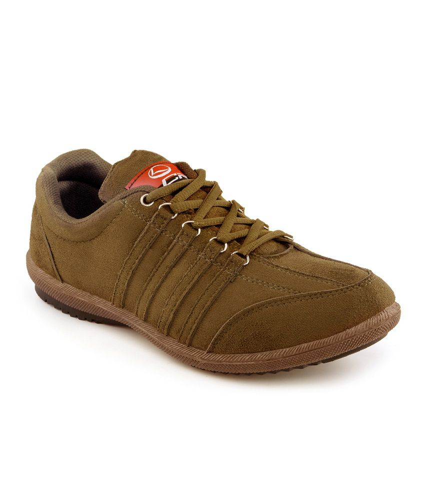Lancer Brown Smart Casuals Shoes