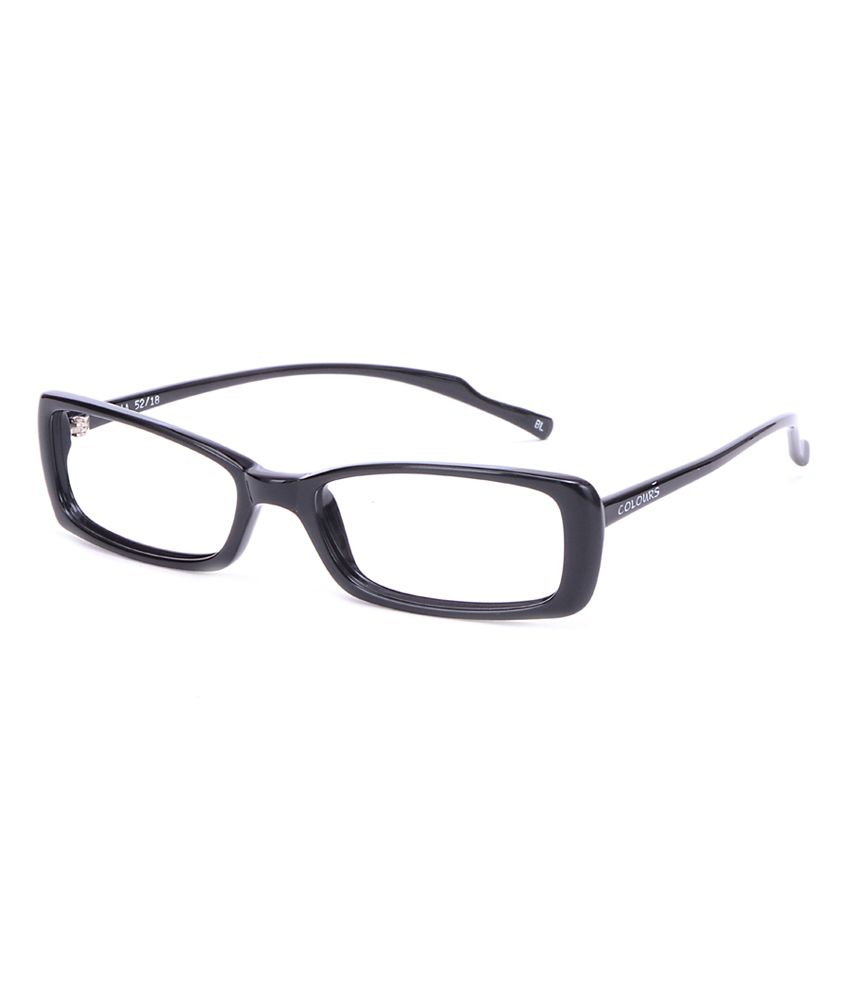 Comfortsight Black Full Rim Frame Eyeglass
