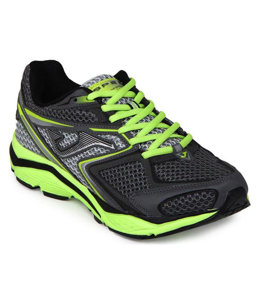 nueva productos e9e1b ca108 Joma Green & Grey Mesh Running Sports Shoes
