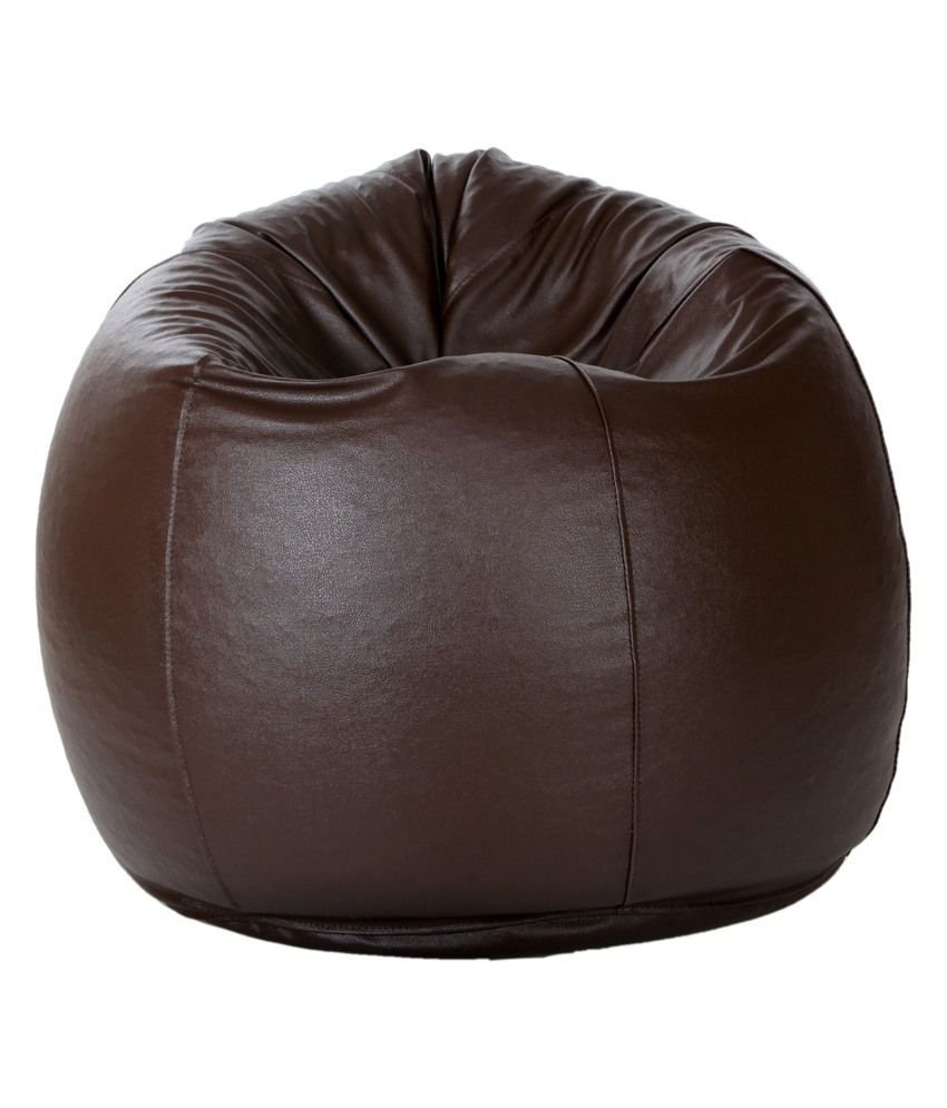 Bean Bag With Beans In Brown XL