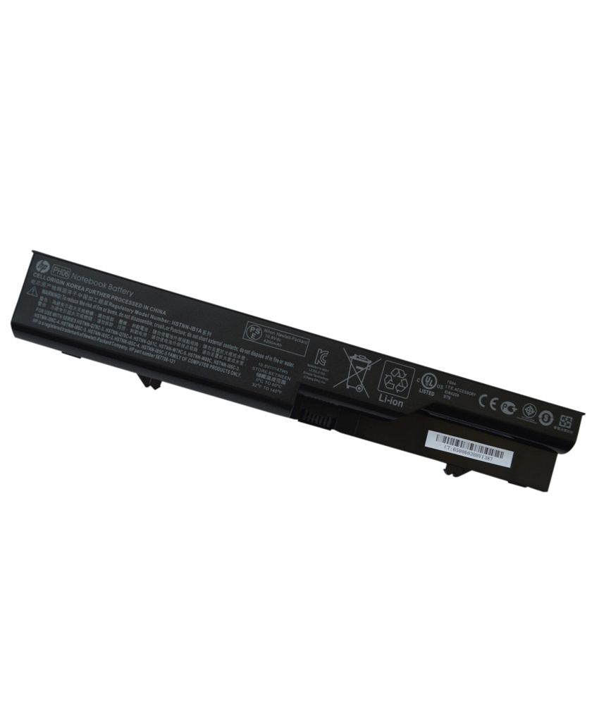 Hp Genuine Original 6 Cell Laptop Battery For Hp Probook 4320s Ph06