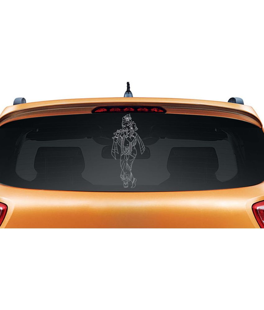 Car sticker design in india - Walldesign Artistic Krishna Car Sticker Walldesign Artistic Krishna Car Sticker