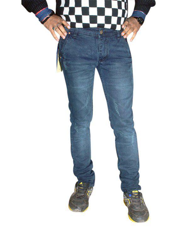 Guccy Jeans Blue Slimfit Jeans