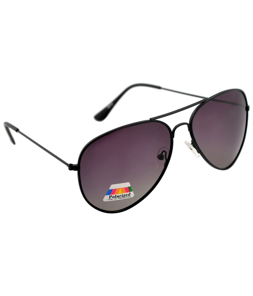 PAVO AVES 1008 aviator blk shape 100% UV and polarized sunglass