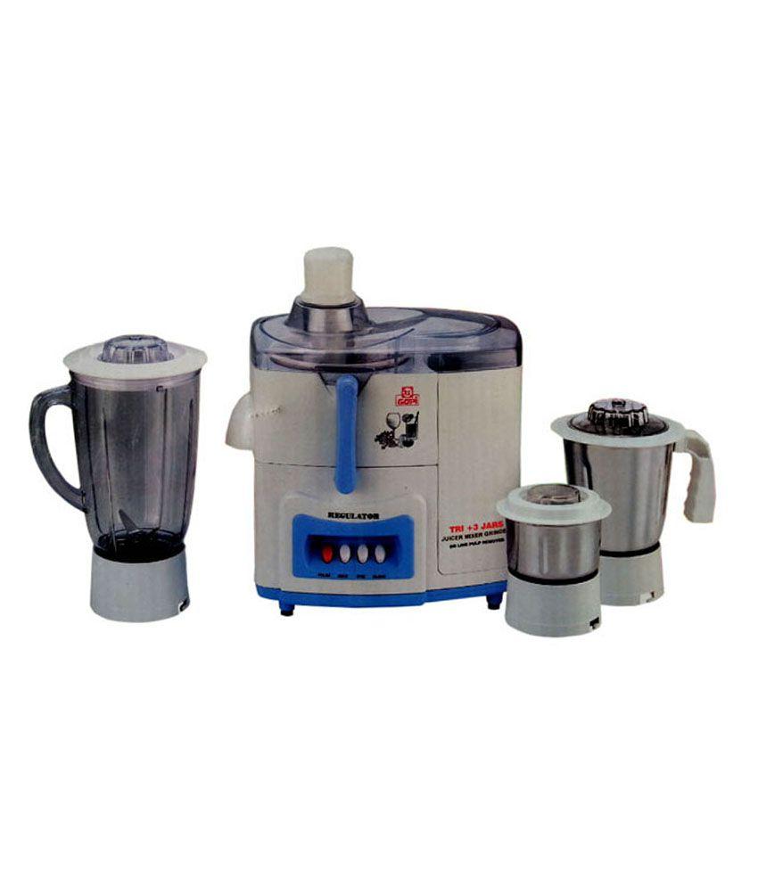 Gopi Tri Plus 450W Juicer Mixer Grinder