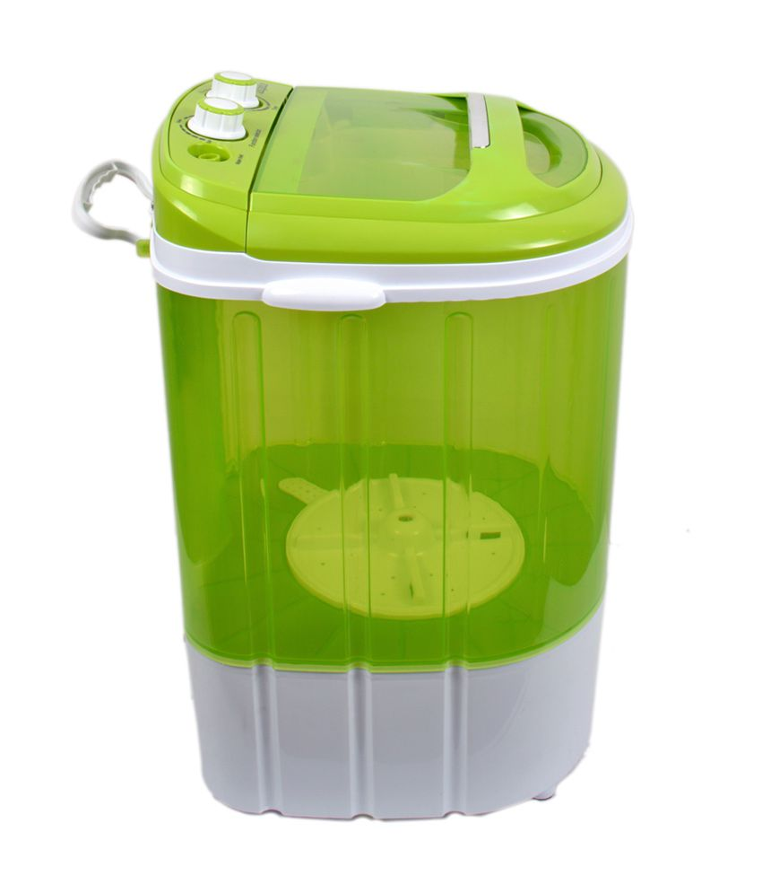 Mini Washing Machines Dolphin Portable Mini Washing Machine 3kg Wash 15kg Dry Semi