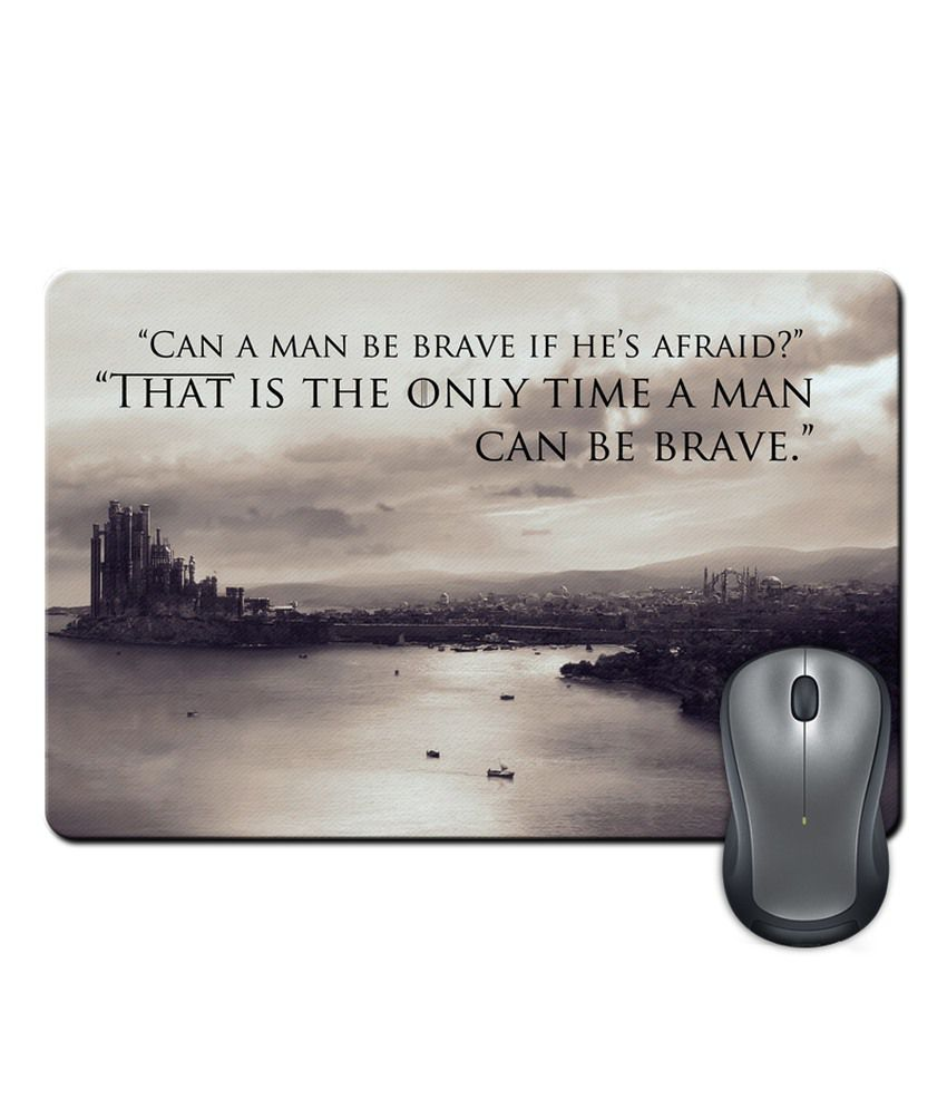 Shopmantra Game Of Thrones Quote Mouse Pad