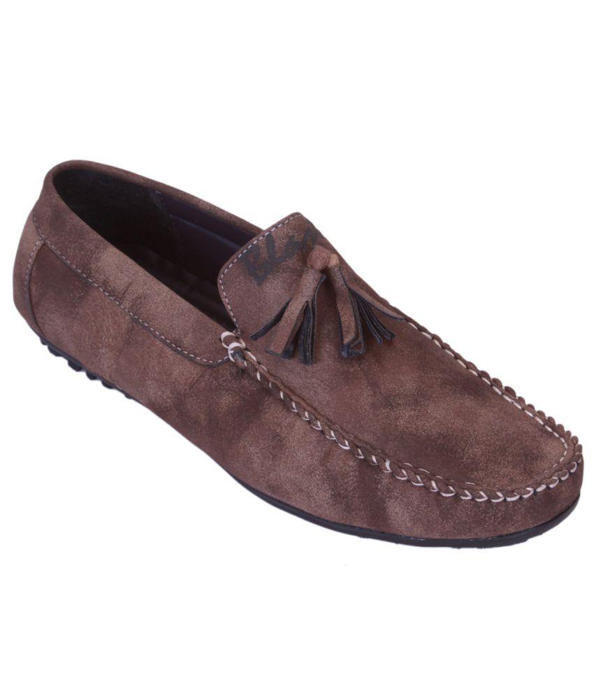 Shoebook Brown Loafers