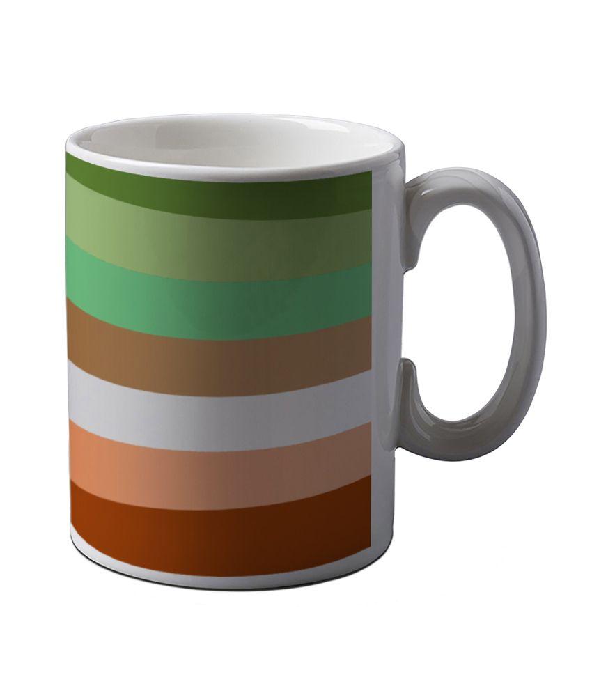 Artifa Abstract Design Amg0147 Ceramic Coffee Mug