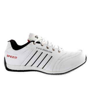Speed White Sport Shoes - Buy Speed