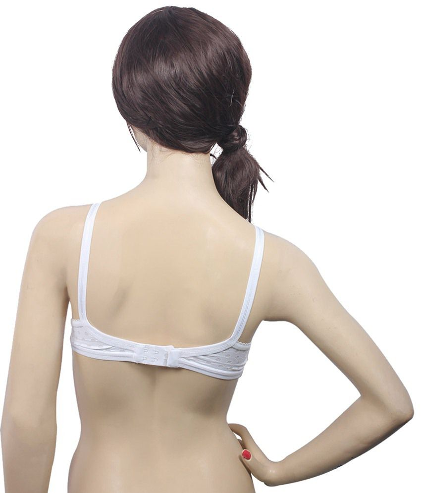 d04b9b52e9 Buy Bodycare White Cotton Bra Online at Best Prices in India - Snapdeal