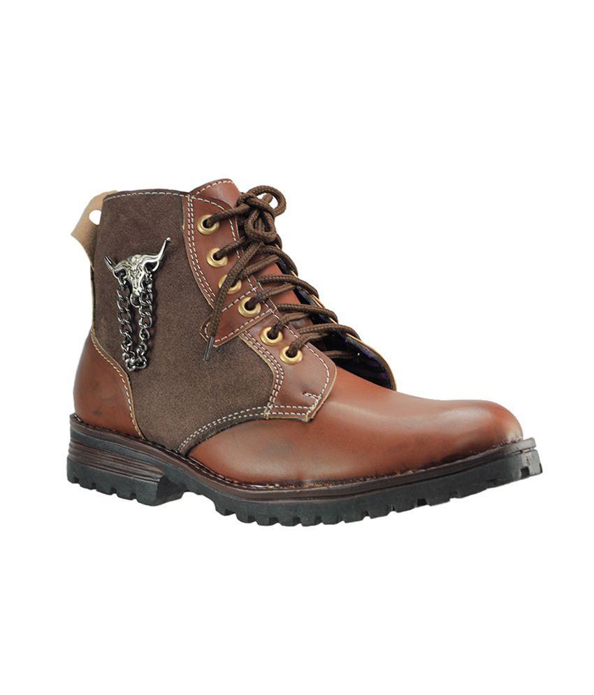 Dziner Lentus Brown Men Boot