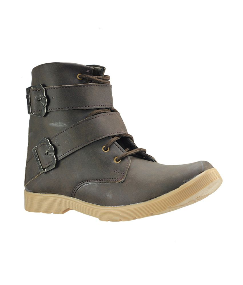 Dziner Ultimo Brown Men Boot