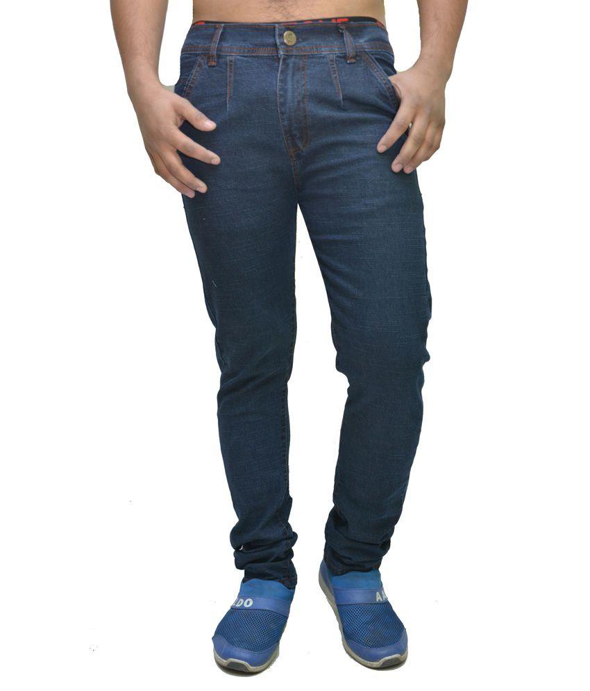 Nation Mania Premium Slim Fit Men's Jeans