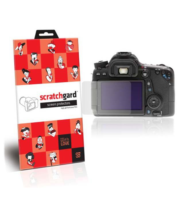 Scratchgard Ultra Clear Screen Protector For Canon Eos 70d
