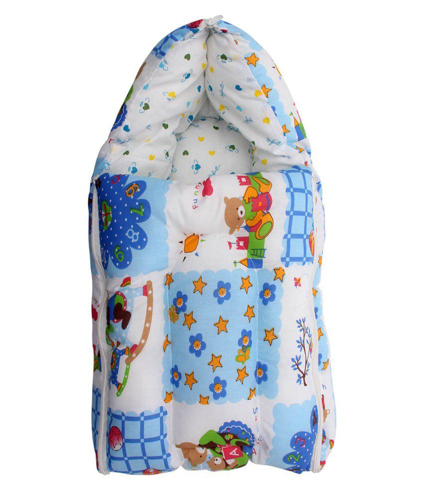Glitz Baby 3 In 1 Baby Twinkle Star Design Blue Carrier Bed