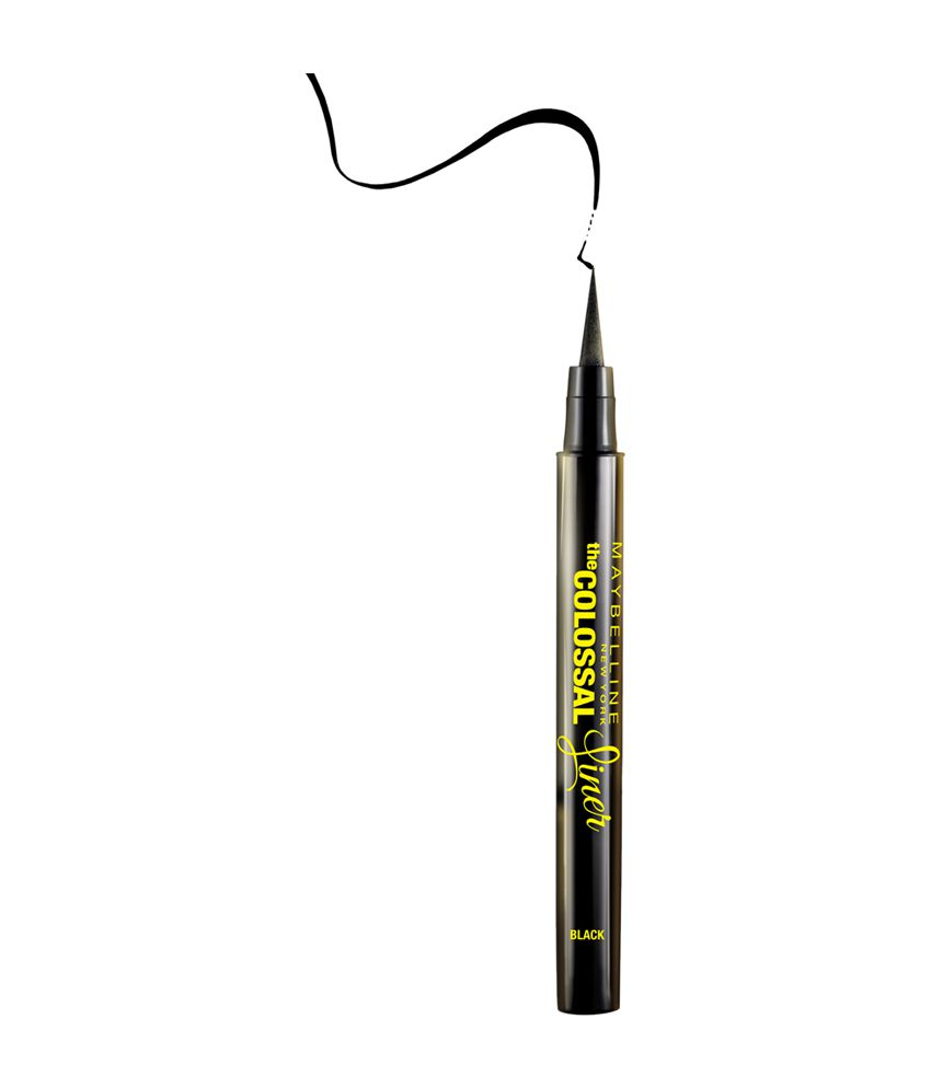 maybelline the colossal black liner 1 2 gm  buy maybelline