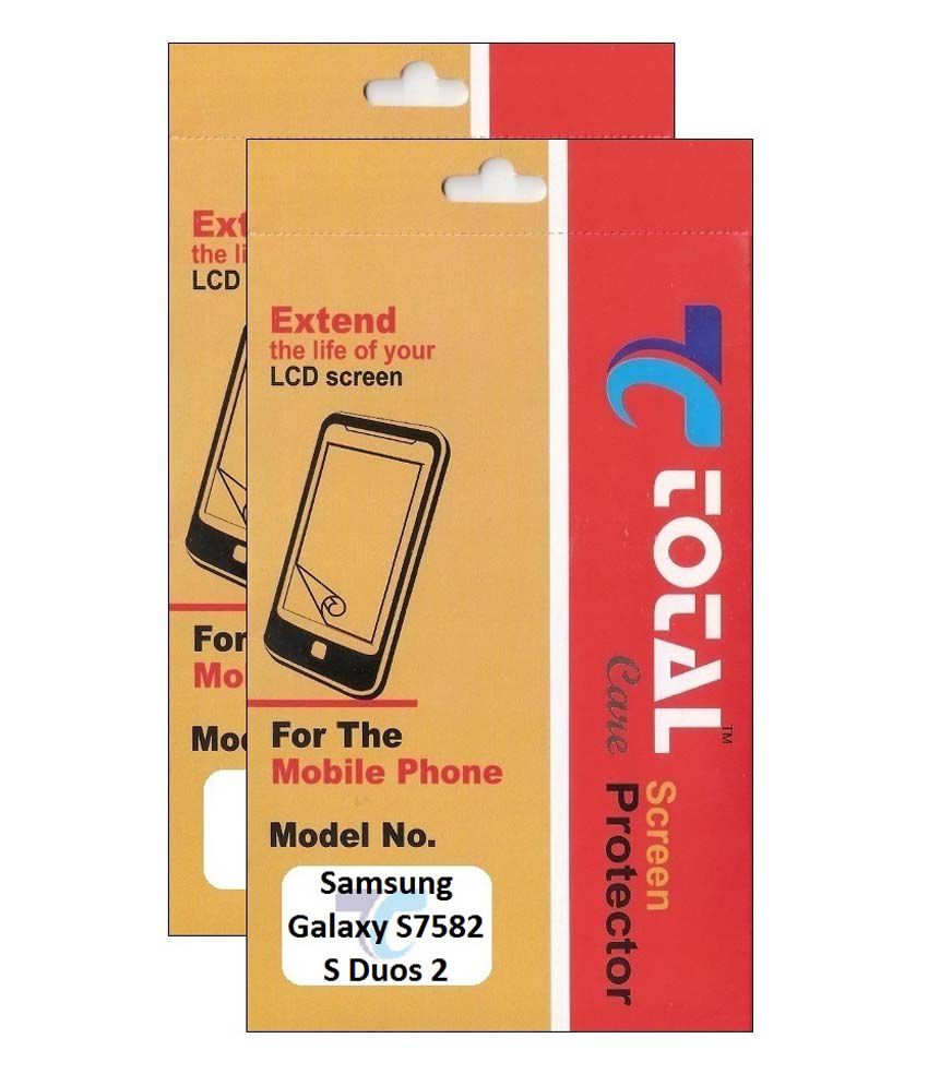 Total Care Pack Of 2 Matte Screen Guard For Samsung Galaxy D Duos 2