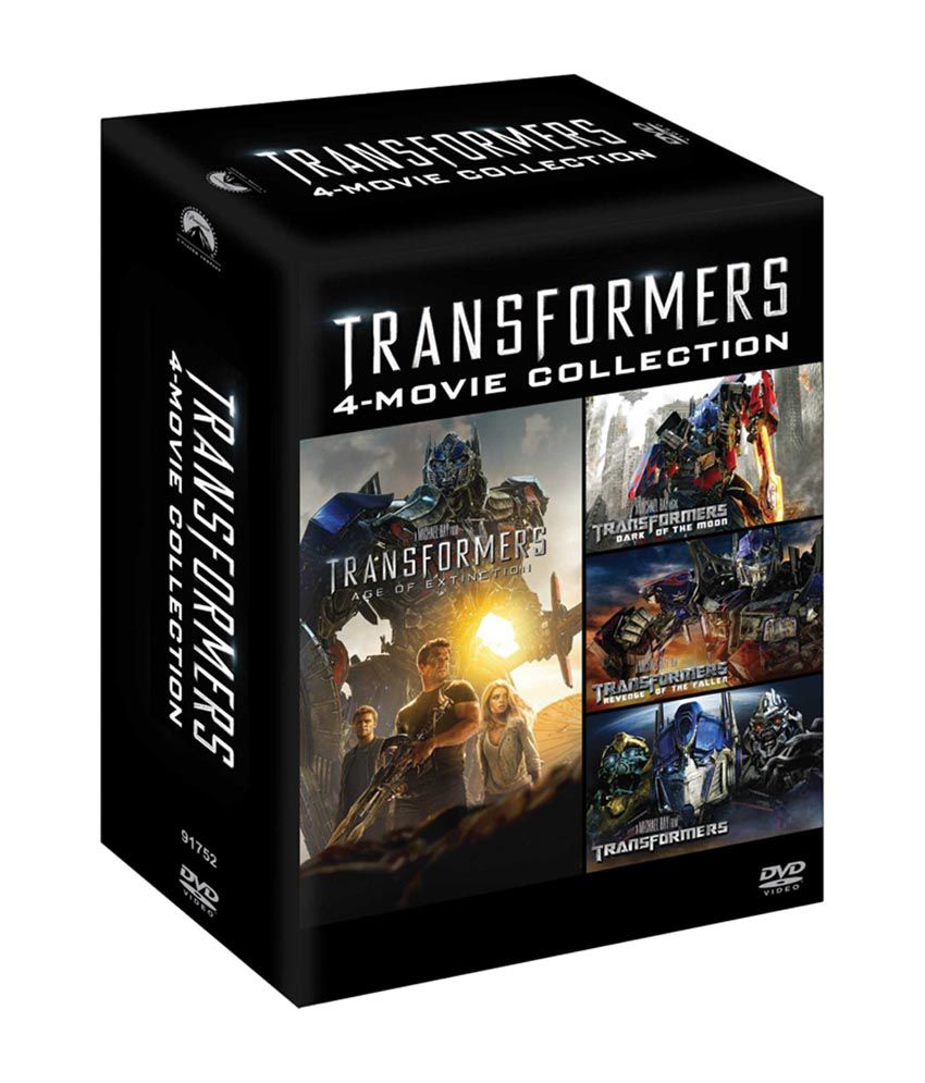 transformers (4 movie collection) ( dvd ) ( english ): buy online at